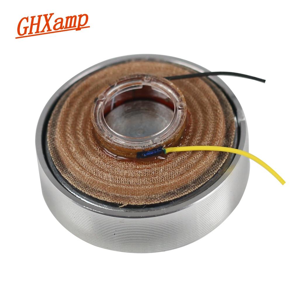 GHXAMP 2 INCH 4OHM 15W Portable Resonance Vibration Speaker DIY Full Range 50MM Vibrating Plane Sound Hock Loudspeaker 1PCS