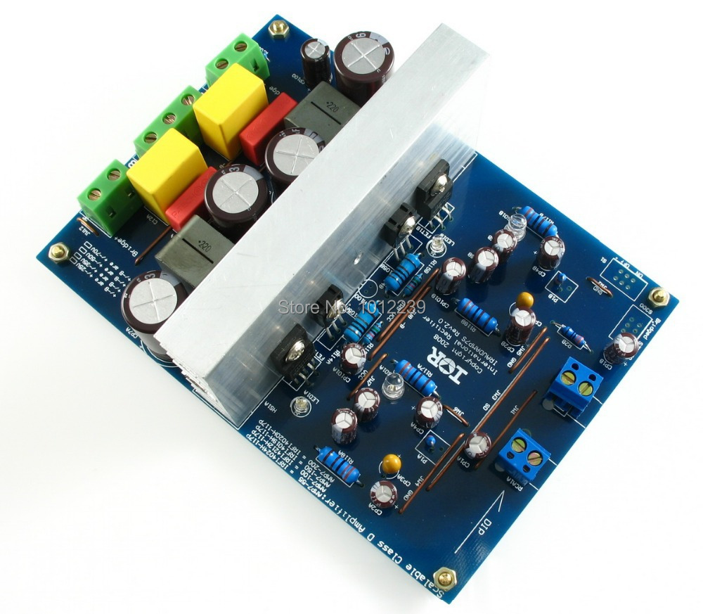 L15DX2 IRS2092  IRAUDAMP7S 125W-500W  Top Class D amplifier finished board dual-channel цена 2017