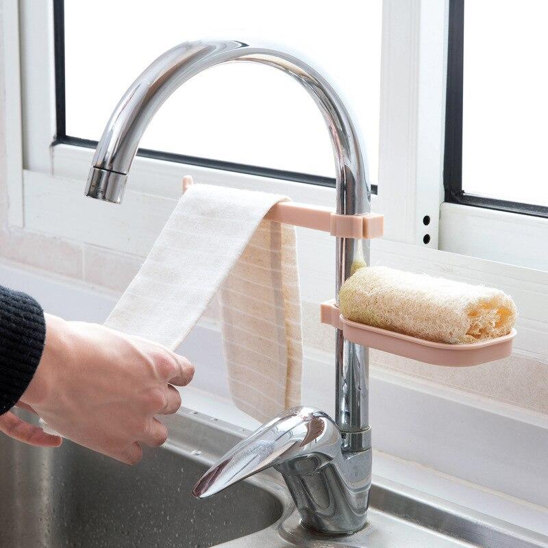 Kitchen Sink Clamp Towel Holder