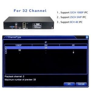 Image 3 - Hiseeu H.265 2HDD 32CH CCTV NVR 960P 1080P 3M 5M DVR Network Video Recorder  Onvif 2.0 for IP Camera 2 SATA XMEYE P2P Cloud