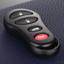 4 Button Remote Car Key Shell Fob Blank Case Replacement For Chrysler Sebring Jeep Liberty Dodge Neon Intrepid Stratus