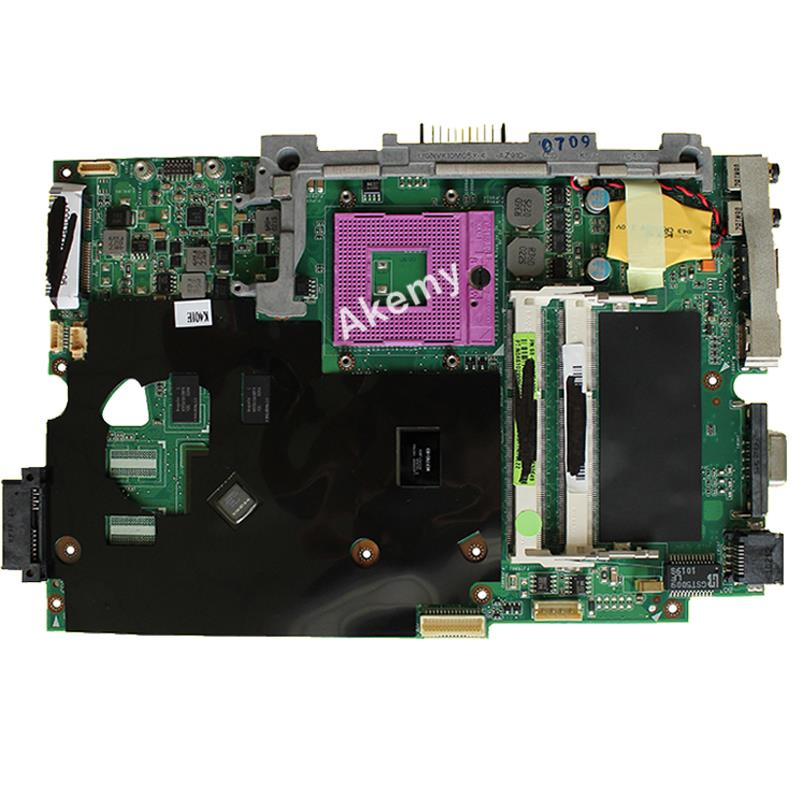 AK K40IE/K40ID Laptop motherboard for ASUS K40ID K50ID K40IE K50IE X50DI K40I K50I Test original mainboard  14 inch-in Motherboards from Computer & Office    2