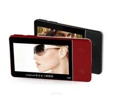 Écran tactile 4.3 pouces MP3 MP4 portable lecteur vidéo amplificateur avec 8 GB mémoire mégaphone soutien TF carte/usb musique libre téléchargement