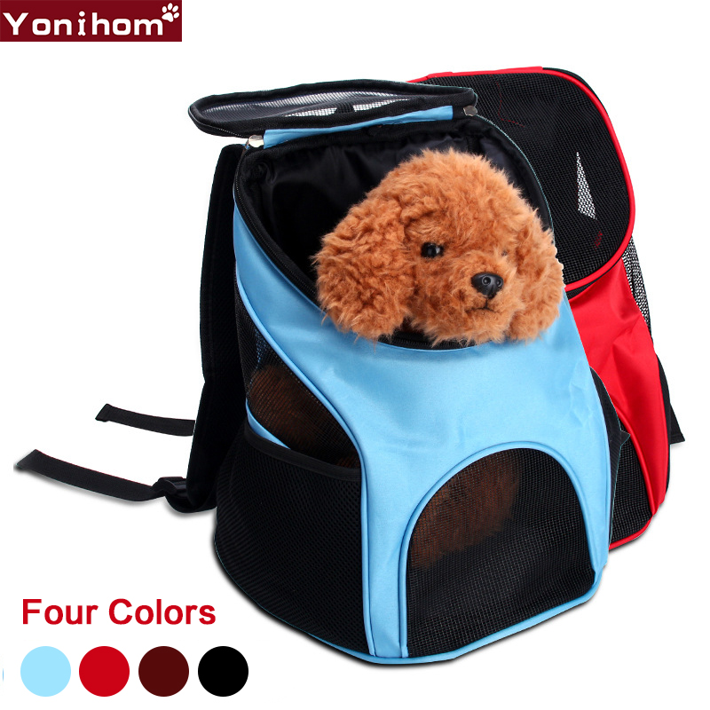 Pet Carrier Fashion Breathable Bag For Dogs Travel Carrying Cat Dog Puppy Comfort Travel Outdoor Shoulder Backpack Portable