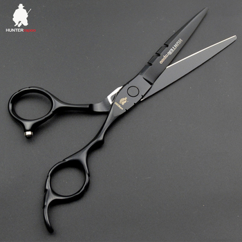 30% OFF HT9153 Hot 6 inch Professional Barber Cutting Scissors for hairdresser supplies Japanese stainless steel 440C hair shear image