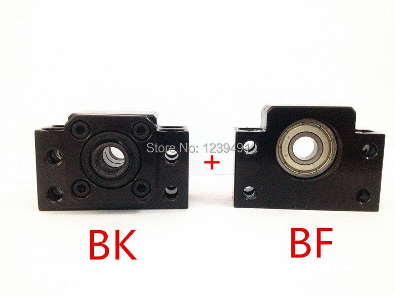 1 pz BK17 e 1 pz BF17 vite della Sfera End Supporti per CNC1 pz BK17 e 1 pz BF17 vite della Sfera End Supporti per CNC