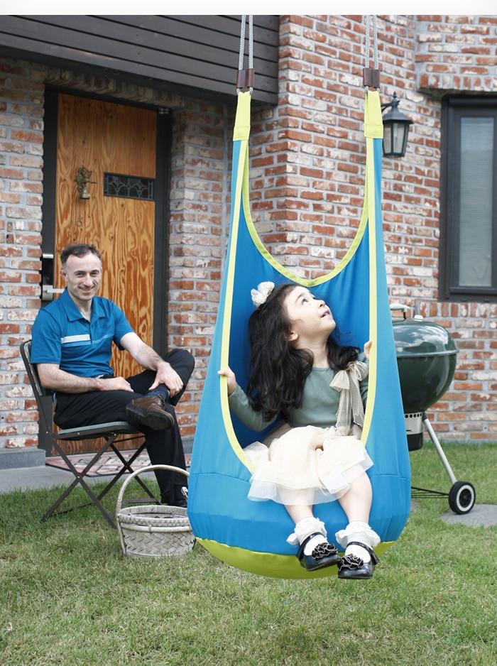 Image 3 - New Baby Hammock Balanço Pendurado Cadeira Pod Recanto de Leitura  Tenda Interior Ao Ar Livre Rede Cadeira Do Balanço Do Bebê da Criança  Do Bebê Cadeira Relaxantehanging chairhammock kidsbaby hammock -