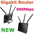 NEW RT-N66U / R Dual-Band Wireless 900Mbps Gigabit Router WiFi Router With 3 x Detachable R-SMA Antenna 2 x USB 2.0 For ASUS OEM