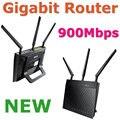NOVA RT-N66U/R Dual-Band Gigabit Router Wi-fi Roteador Sem Fio 900 Mbps Com 3 x destacável r-sma antena 2 x usb 2.0 para asus oem