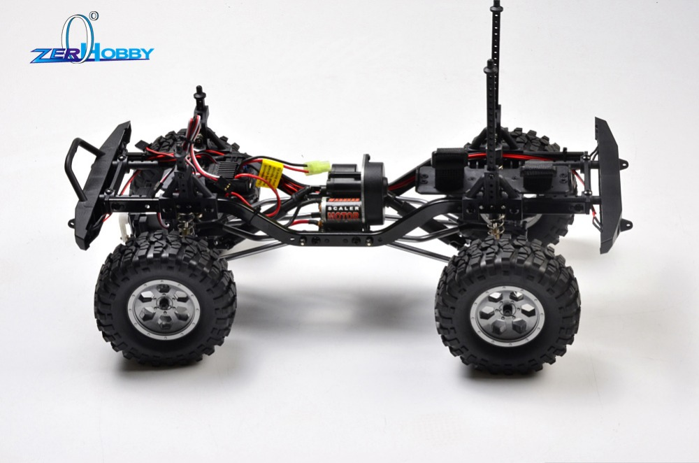 Car Kit HSP RGT 1/10 Scale Electric 4wd Off Road Rock Crawler Cruiser 136100 RC-4 Climbing High Speed Hobby Remote Control Car