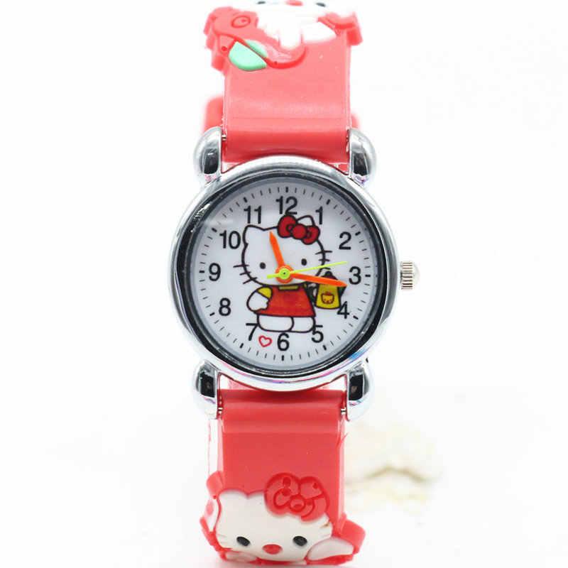 02a78b62e ... Hello kitty watch cartoon quartz watches children wristwatch for kid  child baby clock girls montre enfant ...