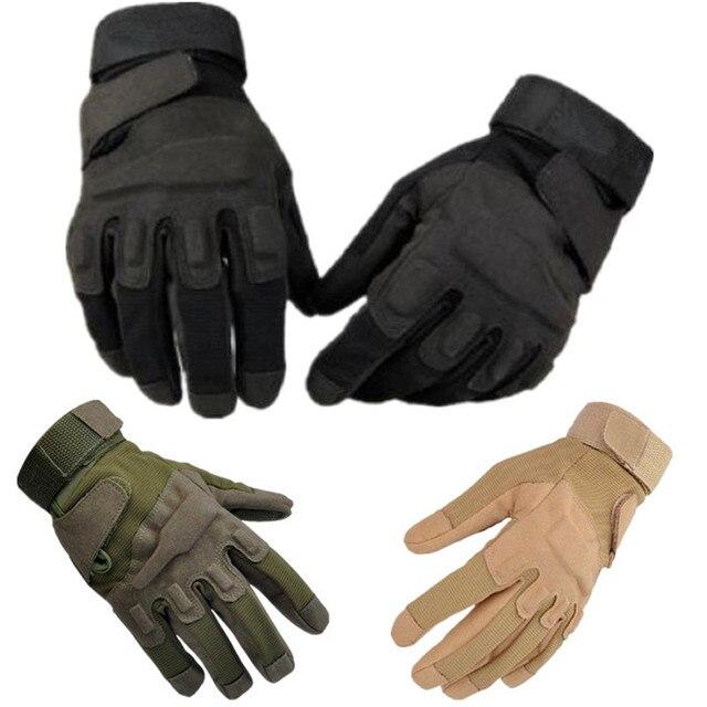 Мужчины Военная Тактическая Airsoft Пейнтбол Стрельба SWAT Blackhawk Перчатки CS Армии Борьбе Борьбе С Наполовину Палец Черный Зеленый Рукавицы