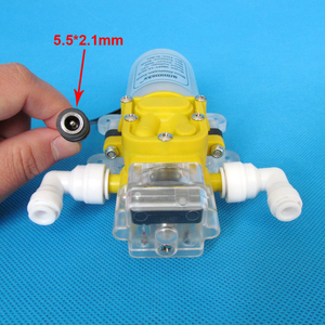 Image 2 - 5L/Min 60W water purifier pump 12v water pump pressure switch