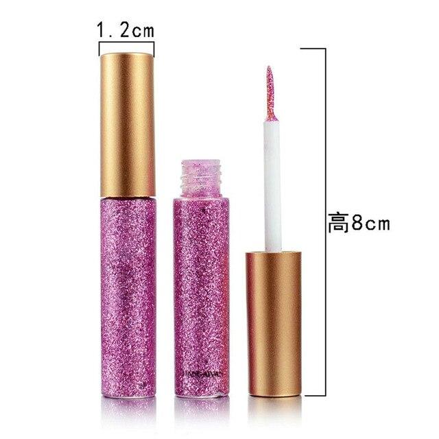 10 Colors/set Glitter Eyeliner Colorful Mermaid Shimmer Eye Liner Set Profissional Complete Makeup Long-lasting Beauty  2