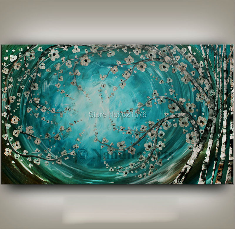 Turquoise Flower Wall Art - Wiring Diagrams •