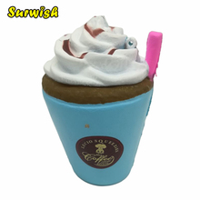 Simulation Ice Cream Shape Slow Rebound PU Decompression Toy Slow Rising Stress Reliever Toy