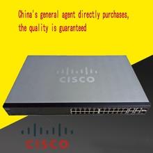 SF300-24 Уровень 2 м 100 м переключатель 24 порты м и разъёмы 100+ 4 гигабитный сетевой управление VLAN мониторинга