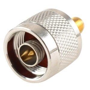 Image 2 - Adapter N Stecker Männlichen Nickel Plating Zu SMA Weibliche Vergoldung Jack RF Stecker Gerade VC720re P15 0,3
