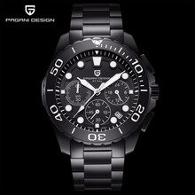 PAGANI DESIGN Luxury Quartz Men Watches Waterproof Sports Male Clock Military Male wristWatch Business Watch Relogio Masculino men s watch top brand pagani design vintage punk 3d skull watch men clock male luxury military aviator quartz relogio masculino