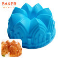 Large crown silicone cake mold bread baking tools novelty cake bakeware molds bread pastyr moulds diy birthday wedding cake