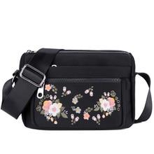 лучшая цена 2019 Chinese Embroidery Women Bag New Fashion Messenger Bag for Female Small Casual Girls Handbag Travel Lady Crossbody Bag