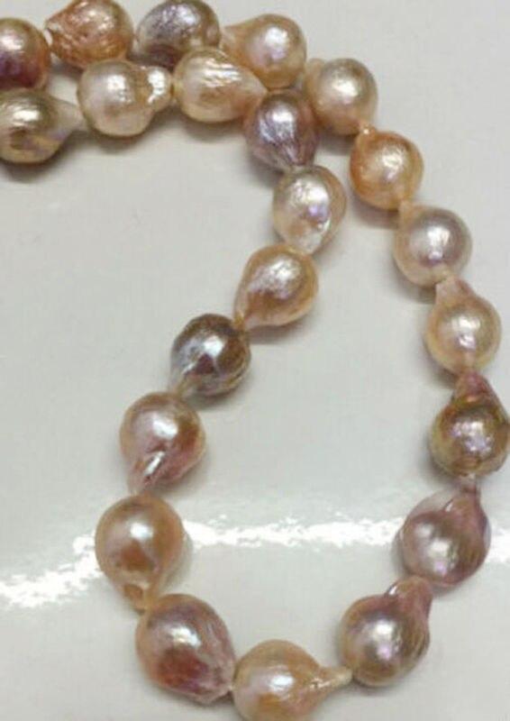 "Здесь продается  Long 18"" 11-14mm Real Natural South Sea Baroque Lavender Akoya Pearl Necklace>Selling jewerly free shipping  Ювелирные изделия и часы"
