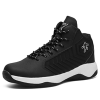 Man Jordan High Basketball Shoes Breathable Anti slip Basketball Sneakers Men Lace up Sports Gym Ankle Boots Shoes Basket Homme