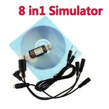Высокое качество 8 в 1 симулятор 8в1 USB для(Phoenix, RealFlight G4, XTR, AeroFly, FMS) Поддержка Futaba ESky JR WFLY