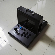 Portable mini portable flip home arcade built-in 2222 retro nostalgic game machine pandora box 9D