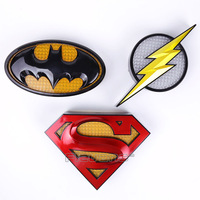 DC COMICS Batman Superman The Flash Intelligence 3M Body Induction Wall Lamp Figure Model Toy
