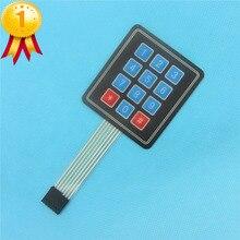 10 PCS 4×3 Matrix Matriz 12 Chave Teclado Interruptor de Membrana Do Teclado Teclado 3*4 Painel de Controle Do Microprocessador para Arduino AVR
