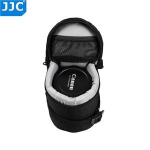 Image 5 - Jjcナイロンデジタル一眼レンズケースソニーA5000 a5100 a6000キヤノン1300DニコンD7200 P900 D5300プロテクターバッグ