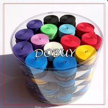 Free shipping 60 pcs YY Dry feel Badminton Racket Grip Tennis Racquet Overgrip 9 COLORS