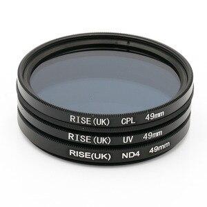 Image 3 - RISE (UK) Camera Filter UV & a Polarizing Filter  & ND Filter 49mm/52mm/55mm/58/62/67MM Filter for Sony Nikon Camera