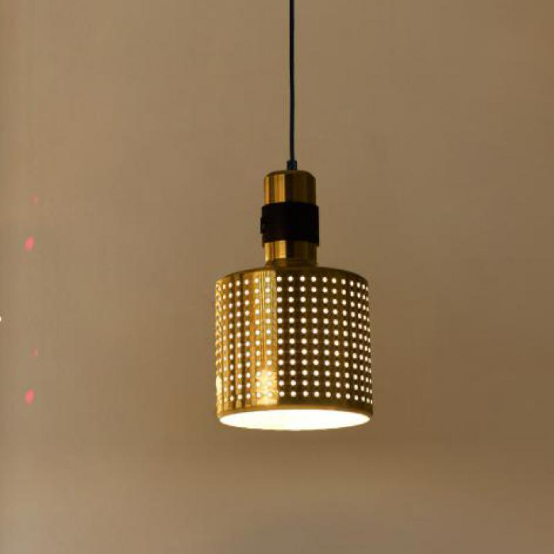 2017 New Arrival Svitz gold Cord Pendant light small hole lamp 110-240V E14 Contemporary Iron hanging lamp Bedroom Kitchen light new arrival iron
