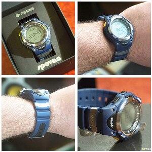 Image 5 - SPOVAN גברים דיגיטלי ספורט שעון אופנה 100M עמיד למים חיצוני אלקטרוני מעורר סטופר שעונים לילדים ילד מתנות SW01