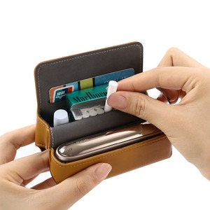 Image 3 - Fashion Flip Wallet Leather Case for IQOS 3.0 Pouch Bag Holder Box Case for IQOS 3 Holder Case