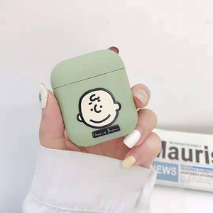 Image 2 - Bluetooth headset cover for apple airpods case peanuts Charlie dog wireless headphone cute Puppy silicone cover for airpods
