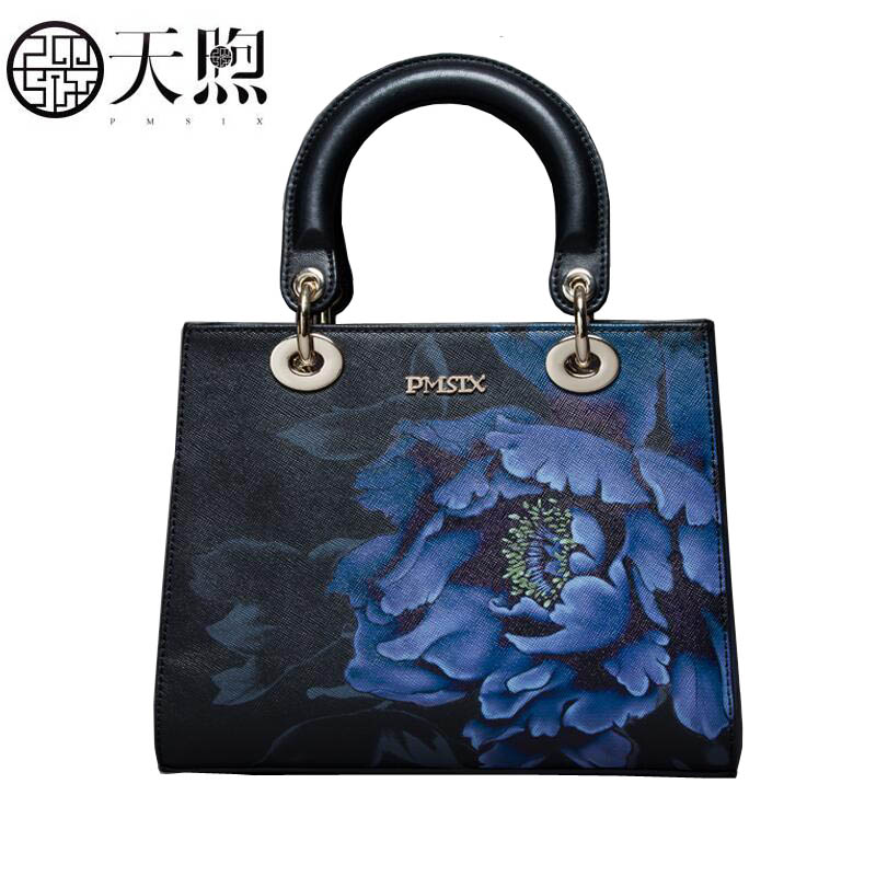 Pmsix 2019 New women Leather bags famous brand women Leather Luxury quality Embossed bag fashion women leather shoulder bagPmsix 2019 New women Leather bags famous brand women Leather Luxury quality Embossed bag fashion women leather shoulder bag