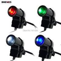 The Lastest 10W Spotlight LED RGBW 4in1 2PCS 4PCS 8PCS Led Pin Spot Beam Lights For