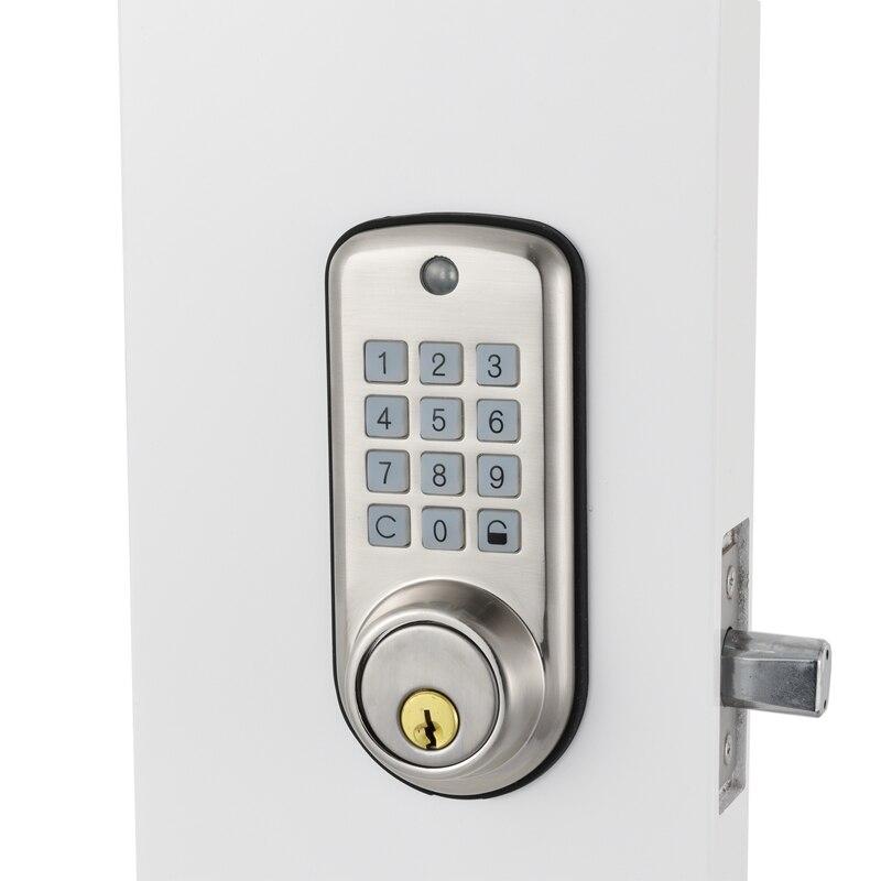 Электронный цифровой дверной замок Smart устройство блокирующее клавиатуру, умный дешевые товара замок высокий уровень безопасности безопас...