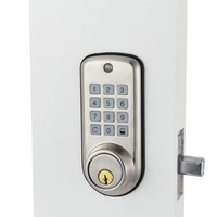 Electronic Digital Door Lock Smart Keypad Locker Lock, Intelligent Cheap Code Door Lock High Security Safe with Single Deadbolt