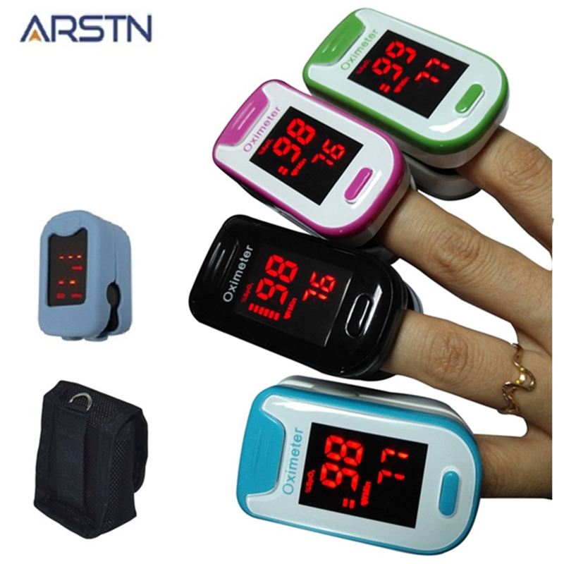 LED &OLED Fingertip Pulse Oximeter De Pulso Dedo Home Family Pulse Oxymeter Pulsioximetro Finger Heart Rate Monitor CE M230A