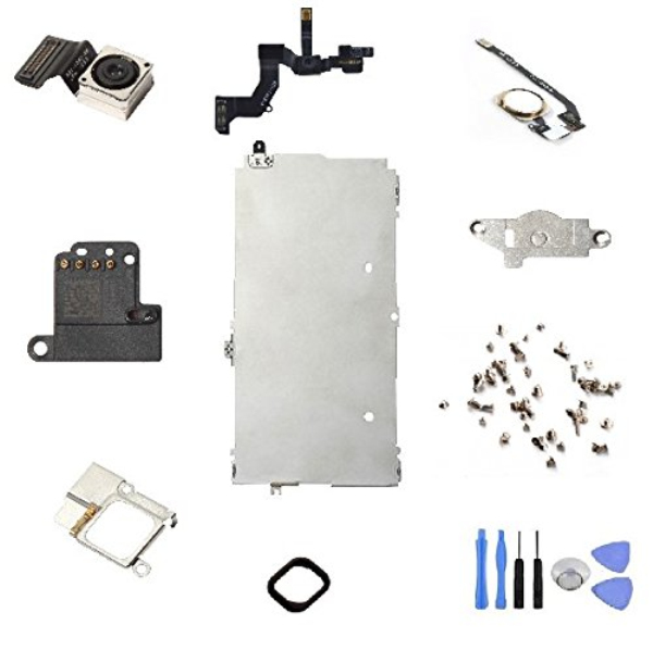 100% original Full Set Repair Parts frame for iPhone 5S Complete LCD & Digitizer Assembly - with Home Button