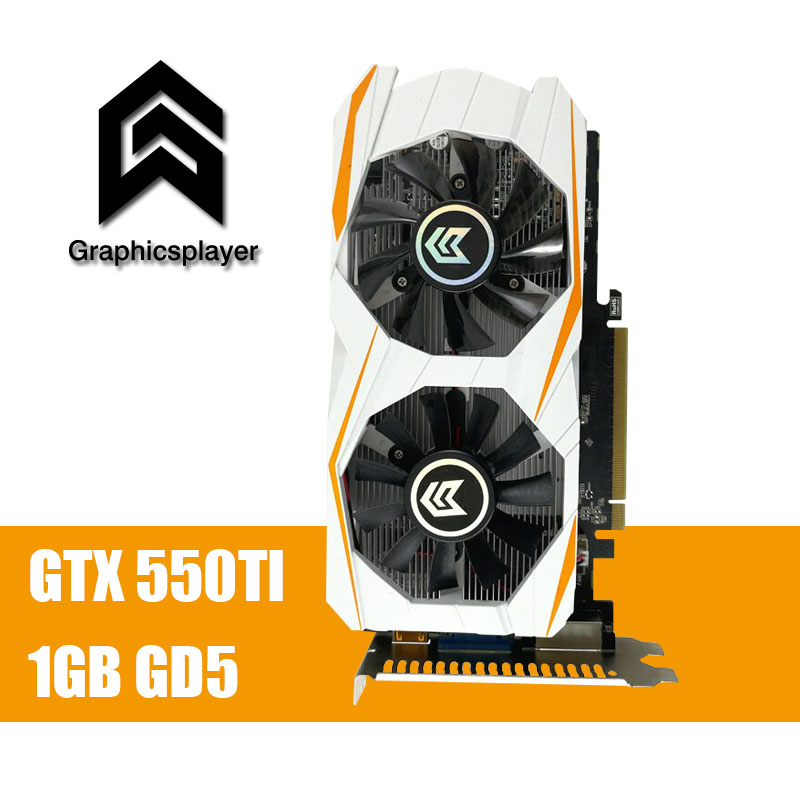 все цены на For Office 1GB DDR5 192Bit GTX550TI PC Graphics Card   pci-express Placa de Video carte graphique Video Card for Nvidia geforce онлайн