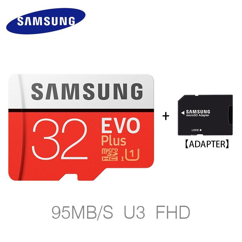 SAMSUNG 100 Mb/s Micro Sd-karte 64 GB 256 GB 128 GB 32 GB Speicherkarte Class10 U3 Flash TF Microsd Karte für Handy mit Mini SDHC SDXC