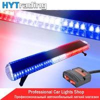Day Lights 47 88 LED Car Police Lights Emergency Warn Beacon Roof Response Strobe Light Red White Blue 12V/24V