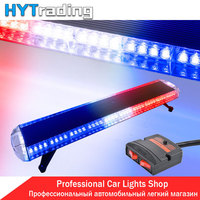 Day Lights 47 88 LED Car Police Lights Emergency Warn Beacon Roof Response Strobe Light Red White Blue 12V/24V