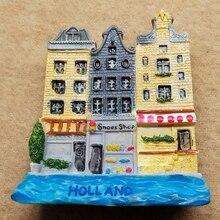Holland tourist souvenir resin refrigerator stickers