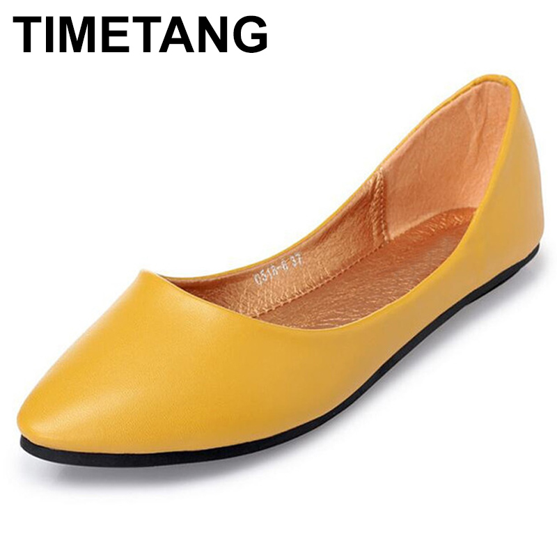 TIMETANGGenuine Leather Flat Shoes Woman Hand-sewn Leather Loafers Cowhide Spring Candy color CasualShoes Women Flats WomenShoesTIMETANGGenuine Leather Flat Shoes Woman Hand-sewn Leather Loafers Cowhide Spring Candy color CasualShoes Women Flats WomenShoes